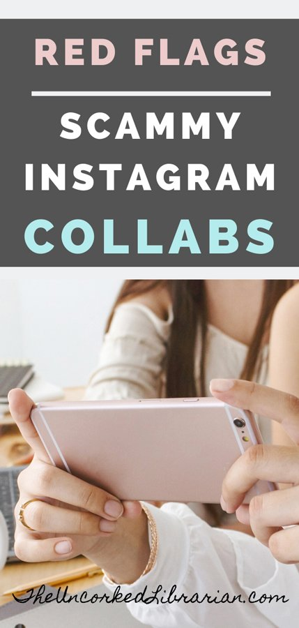 Red Flags Instagram Collaboration Scams