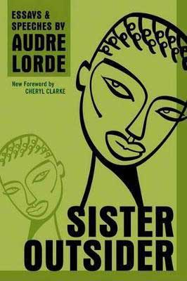 Sister Outside by Audrey Lorde book cover with two women