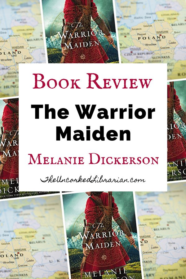 The Warrior Maiden by Melanie Dickerson Pinterest Pin With Book Cover
