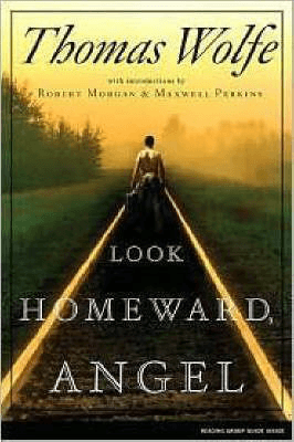 Literature Set In North Carolina Look Homeward Angel Thomas Wolfe