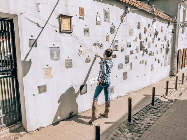 The Baltics For Book Lovers Literary Street in Vilnius