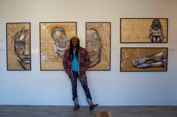 Urban Artist Ola and his Clarksville Gallery
