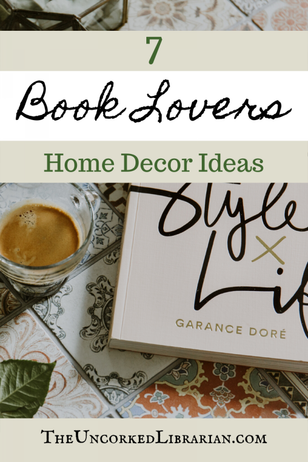 Literary Decor for book lovers