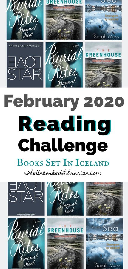 February 2020 Book Discussion and Reading Challenge Pin
