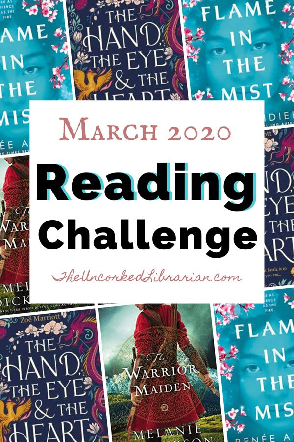 March 2020 Book Discussion Reading Challenge
