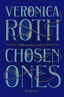 Chosen Ones Veronica Roth navy blue book cover