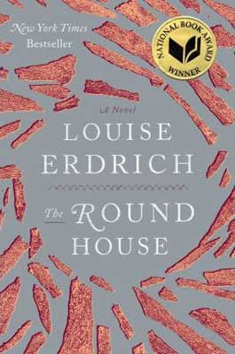 Books set in North Dakota, The Round House by Louise Erdrich, book cover with red stones