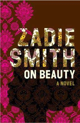 On Beauty by Zadie Smith book cover with pink ornate decor